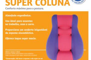 Apoio Super Coluna (preto/cinza)