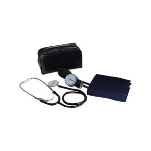 Esfigmomanômetro aneroide com estetoscópio Premium